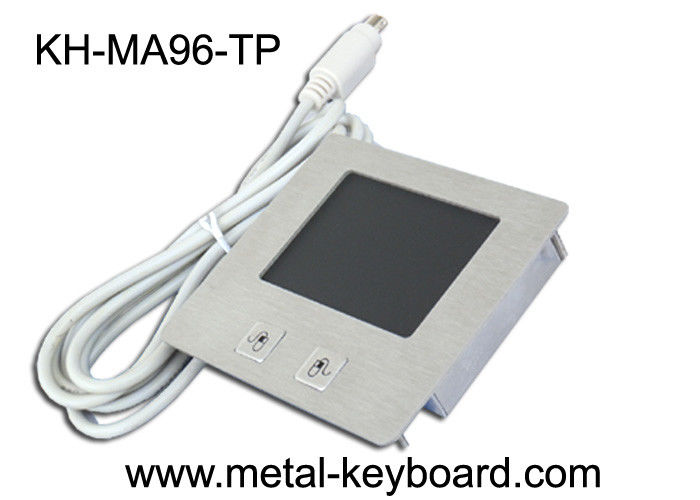 Vandal - proof Stainless steel Industrial Touchpad with 2 Mouse Button and Top Panel