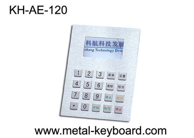 Cina Panel Mount Stainless steel Keyboard, Dispenser Bahan Bakar Metal Keypad pabrik