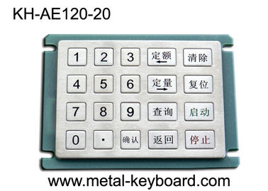 Papan Stainless Steel Stainless Steel Papan Keypad dengan 20 Tombol 5x4 Matrix