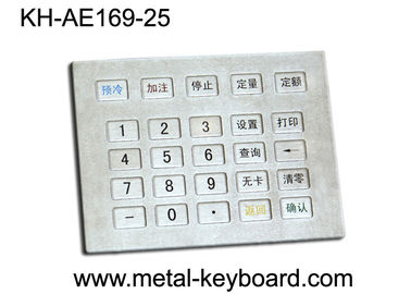 Cina Papan Logam Gas Papan, tahan air stainless steel keypad pabrik
