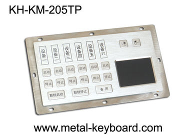 Cina Dust - Proof Panel Mount Keyboard with Stainless Steel Material for Info - Kiosk pabrik