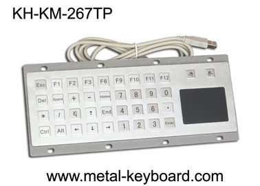 Cina Custom Mine Vandal proof Metal Panel Mount Keyboard with Touchpad Mouse pabrik