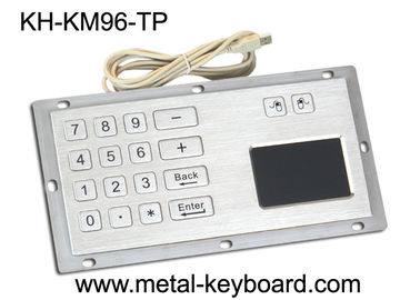 Cina Industrial Panel Mount Touchpad Keyboard with USB Interface , Custom Mechanical Keyboard pabrik