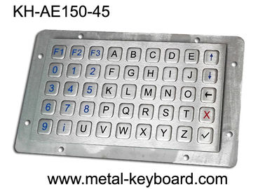 Cina Keyboard Vandalproof Panel Mount Keyboard Dengan Metal Panle, Usb Interface pabrik