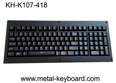Keyboard Backlight Ruggedized Tombol Penuh Panel Logam Dengan Saklar Mechnical Cherry